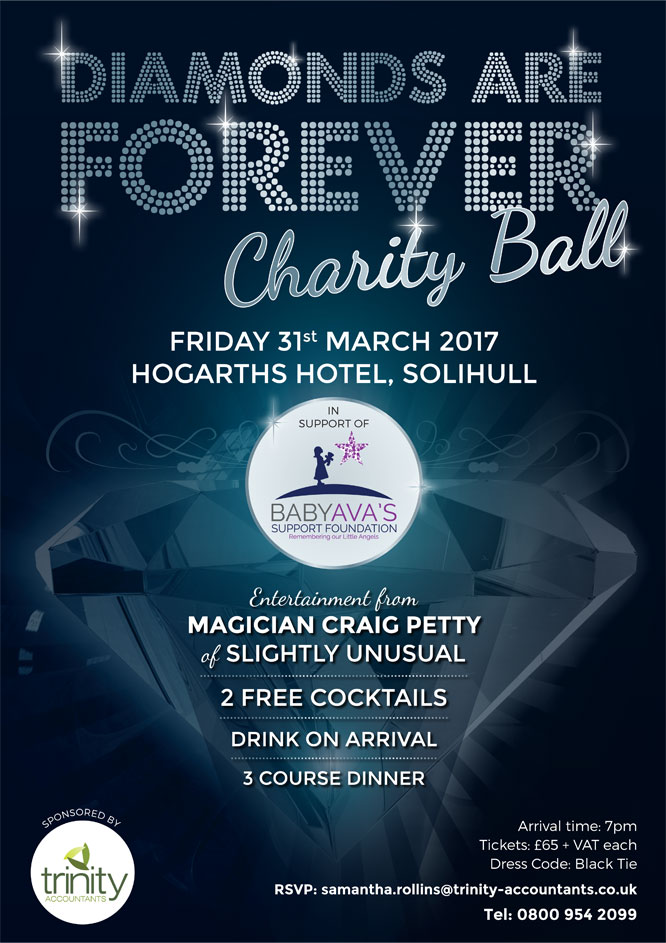 Trinity Accountants are hosting the Charity Spring Ball 2017!