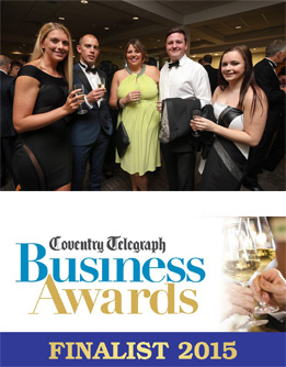 Trinity a Finalist at the 2015 Coventry Telegraph Business Award