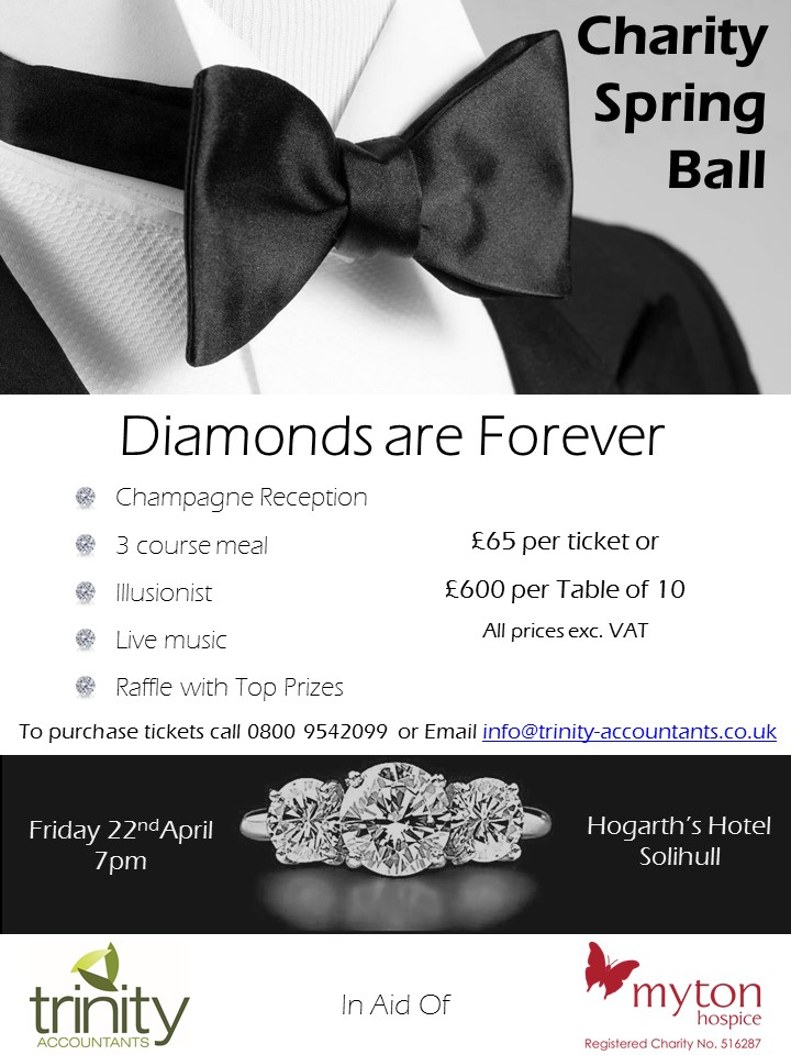 Trinity Spring Ball – Hosted by Trinity Accountants!