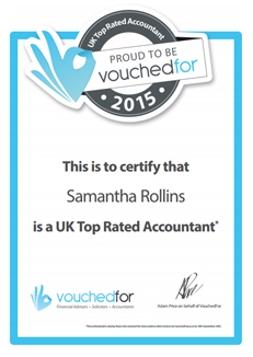 Sam Rollins is a Top Rated UK Accountant!