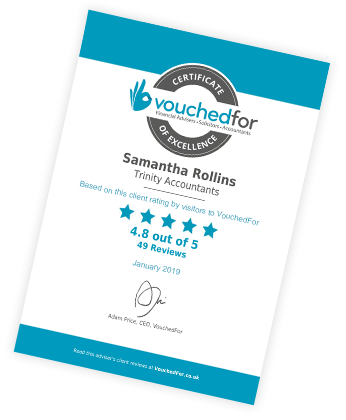 VouchedFor Certificate of Excellence - main image